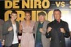 hull boxer luke campbell meets hollywood heavyweights robert de niro and sylvester stallone